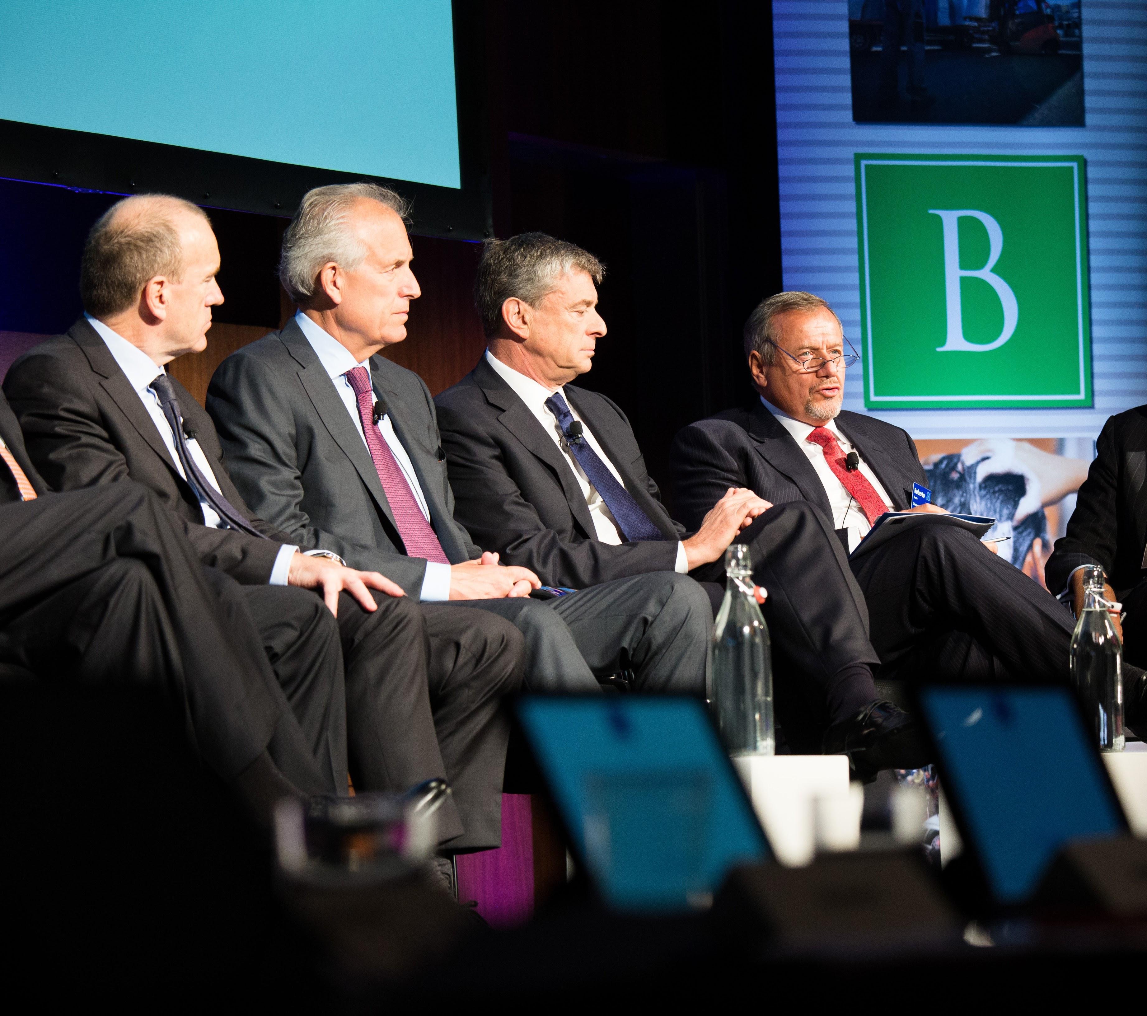 Sir Terry Leahy, Jim McNerney, Paul Presler and Roberto Quarta