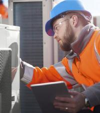 A SOCOTEC Inspector working.