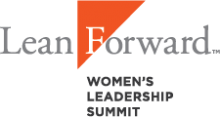 Lean Forward Women's Leadership Summit logo