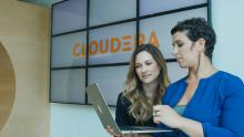 Picture of Cloudera headquarters with employees