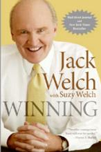 "Book cover of ""Winning"" by Jack Welch"